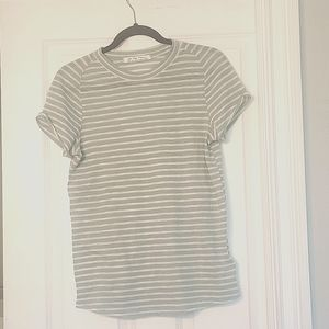 We The Free Size Large Striped Tee